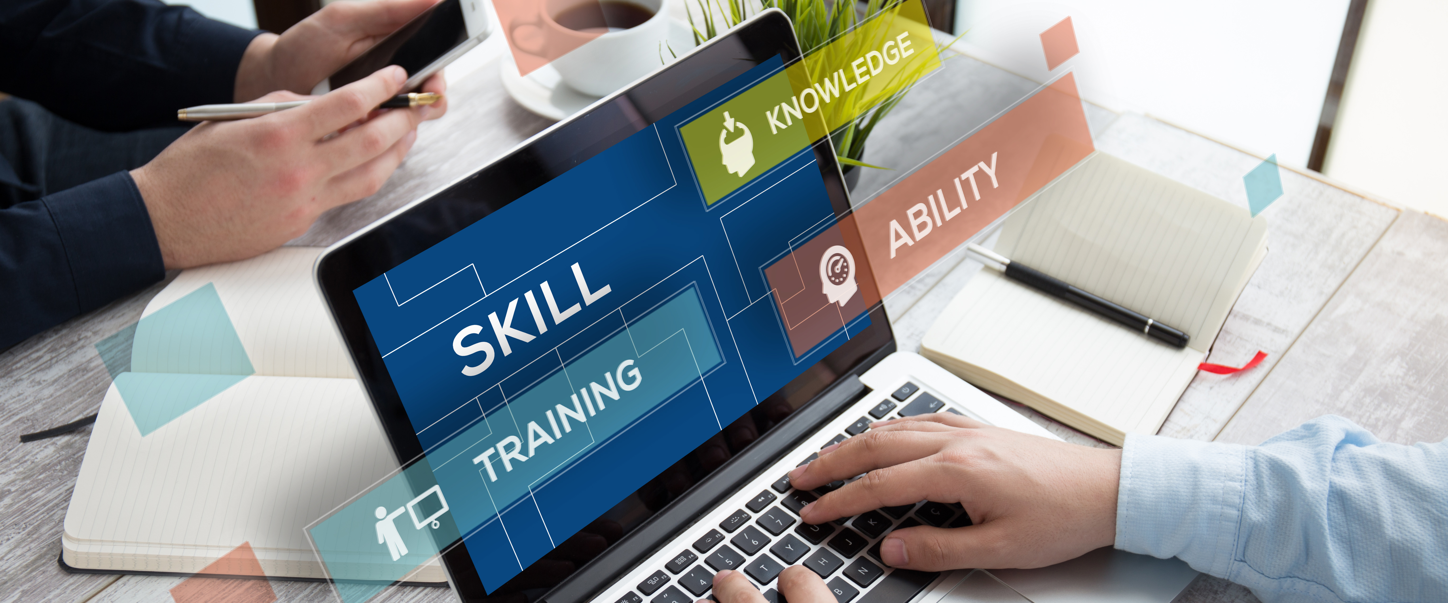 Skills Training Illustration